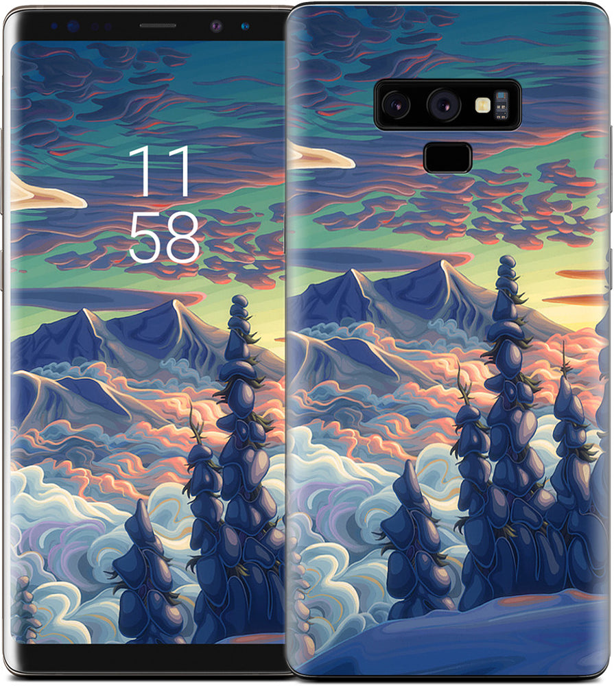 Mountains In My Mind Samsung Skin