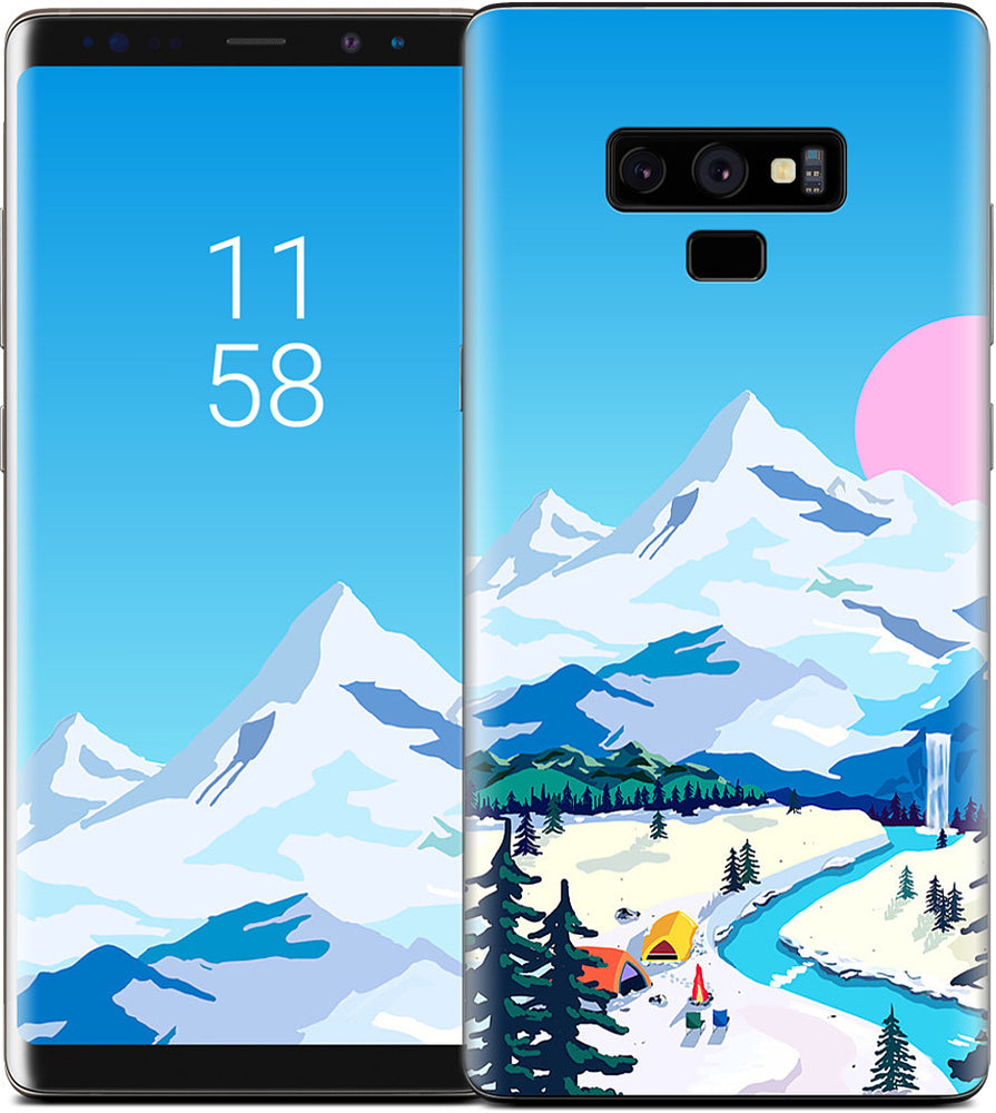 Mountains Samsung Skin