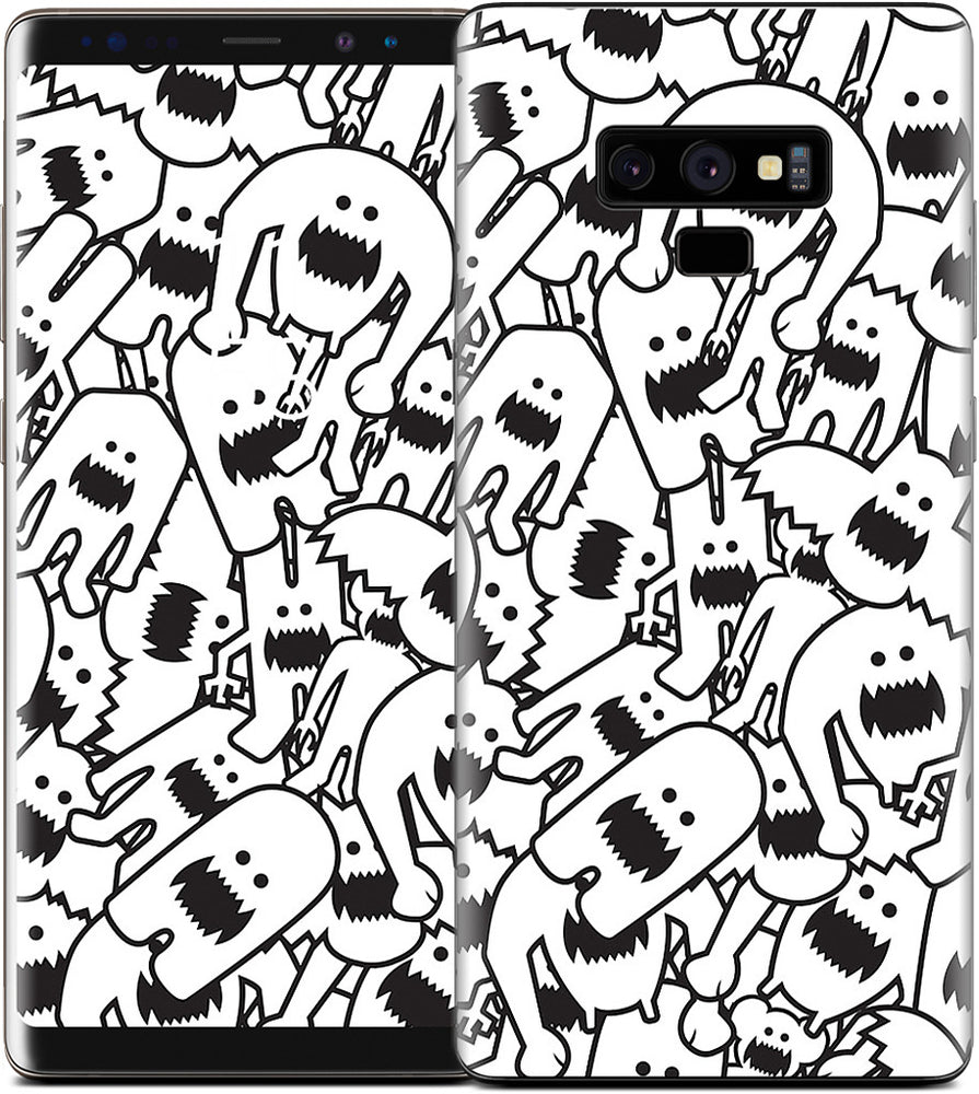 Monster Collage Samsung Skin