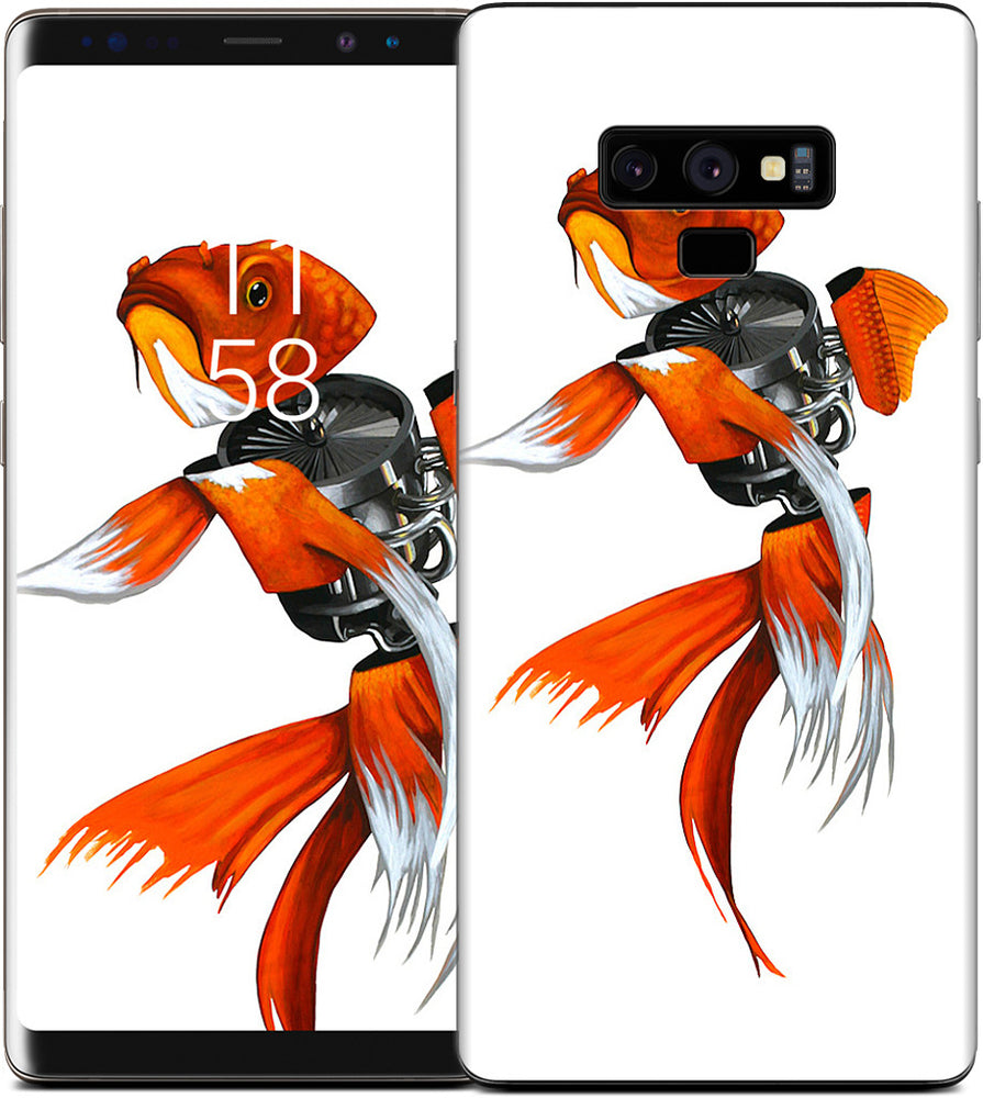 Gold Fish Samsung Skin