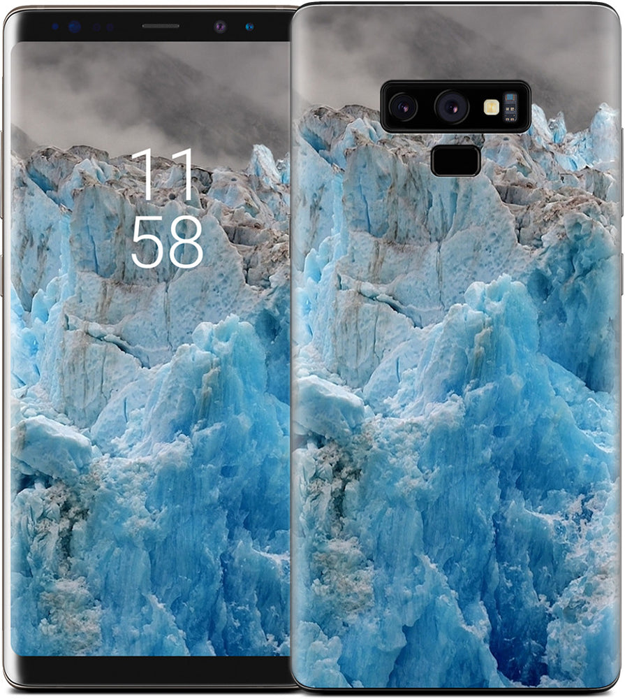 Blue Ice of the South Sawyer Glacier Samsung Skin