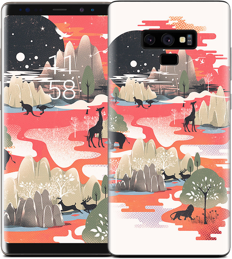Landscape of Dreams Samsung Skin