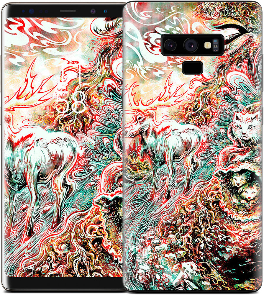 The Blood Machine Samsung Skin