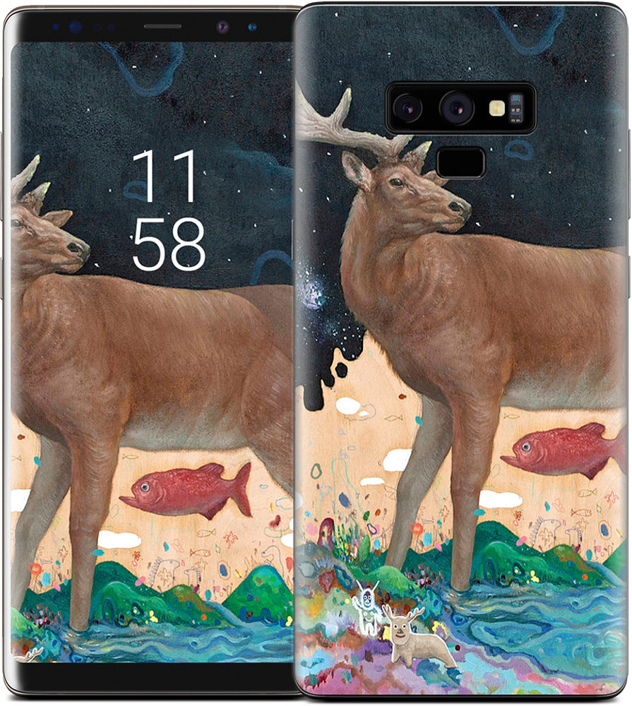 A Relieved Deer Samsung Skin