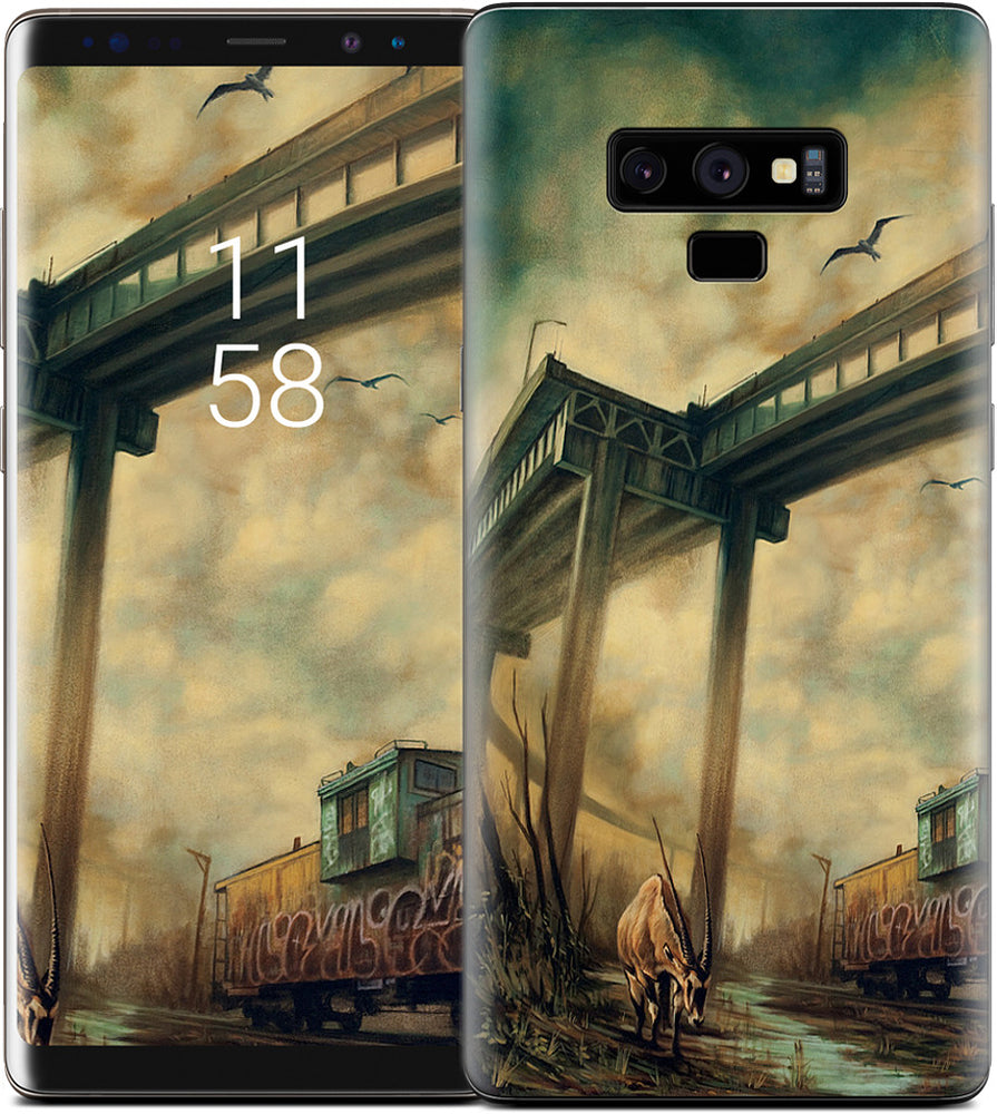 """The Lost Tracks"" Samsung Skin"