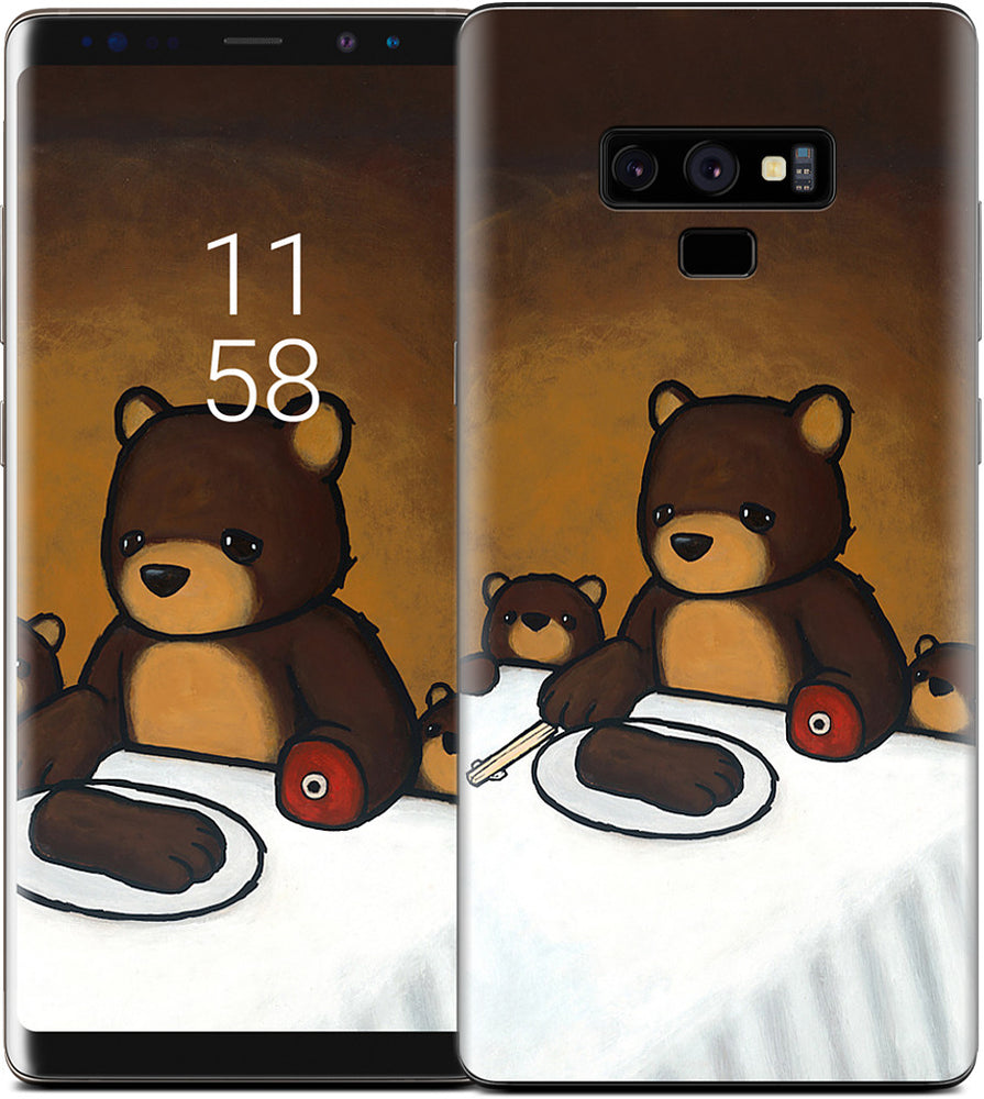 You Are What You Eat Bear Paw Samsung Skin