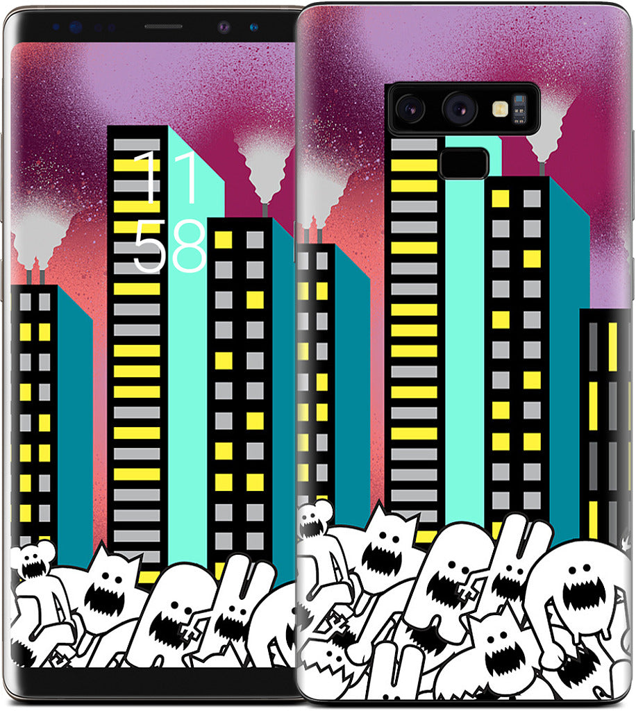 City Nights Samsung Skin