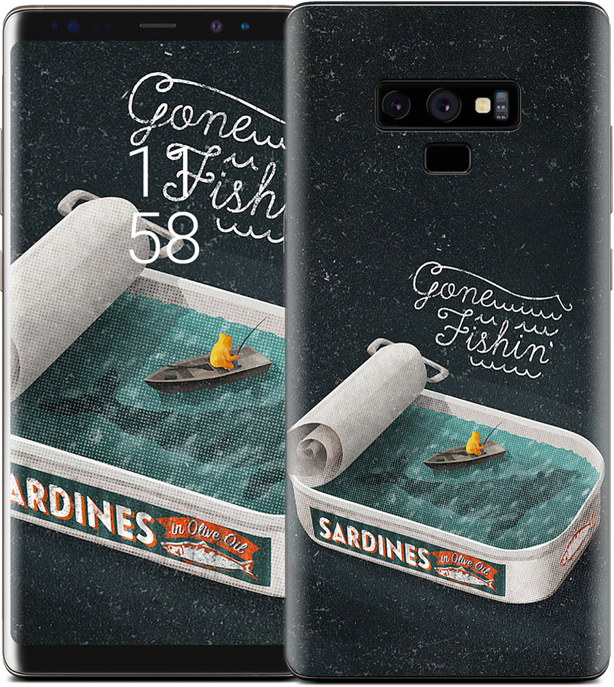 Gone Fishin' Samsung Skin