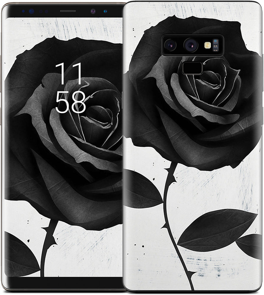 Fabric Rose Samsung Skin