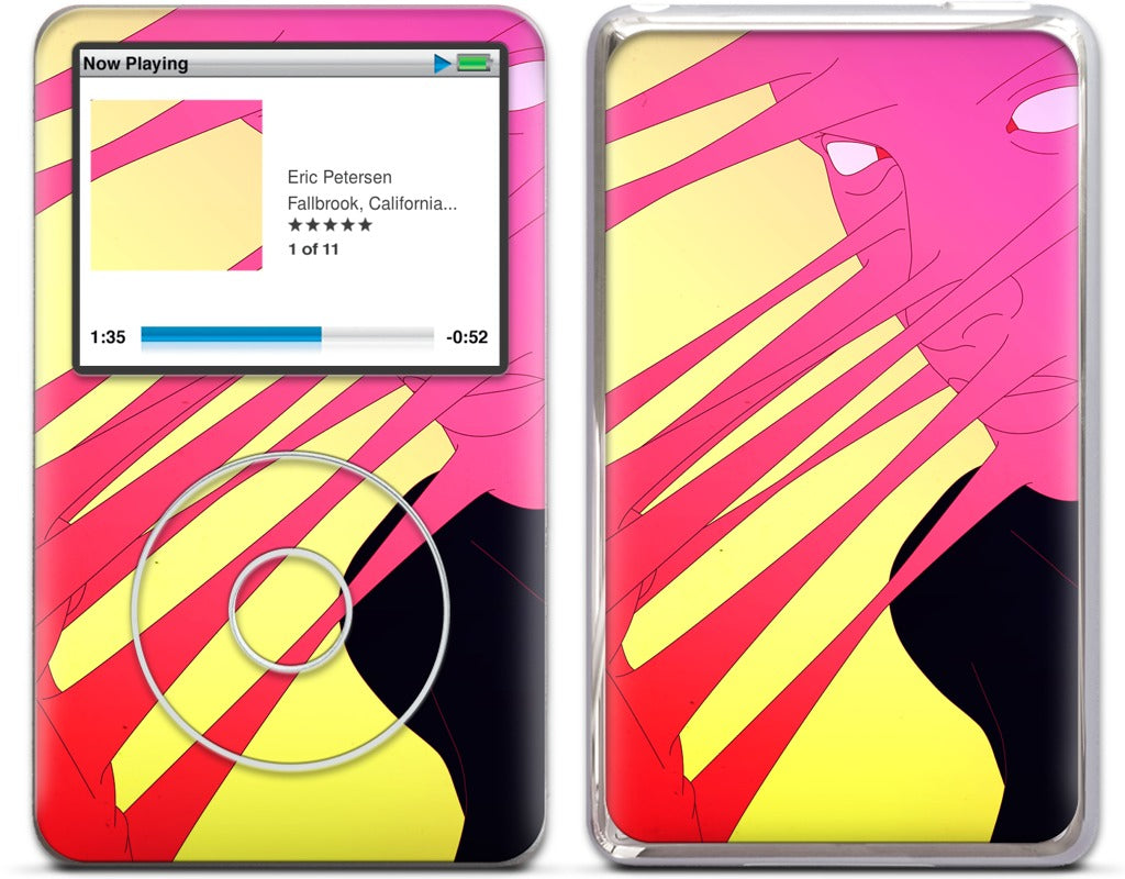 Infinite Capacity iPod Skin