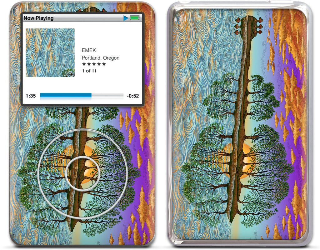 Guitar In Sea Major iPod Skin