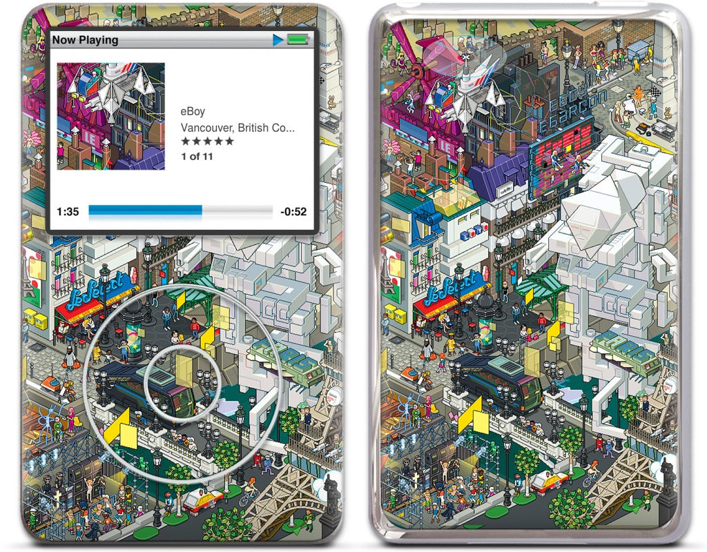 Paris iPod Skin
