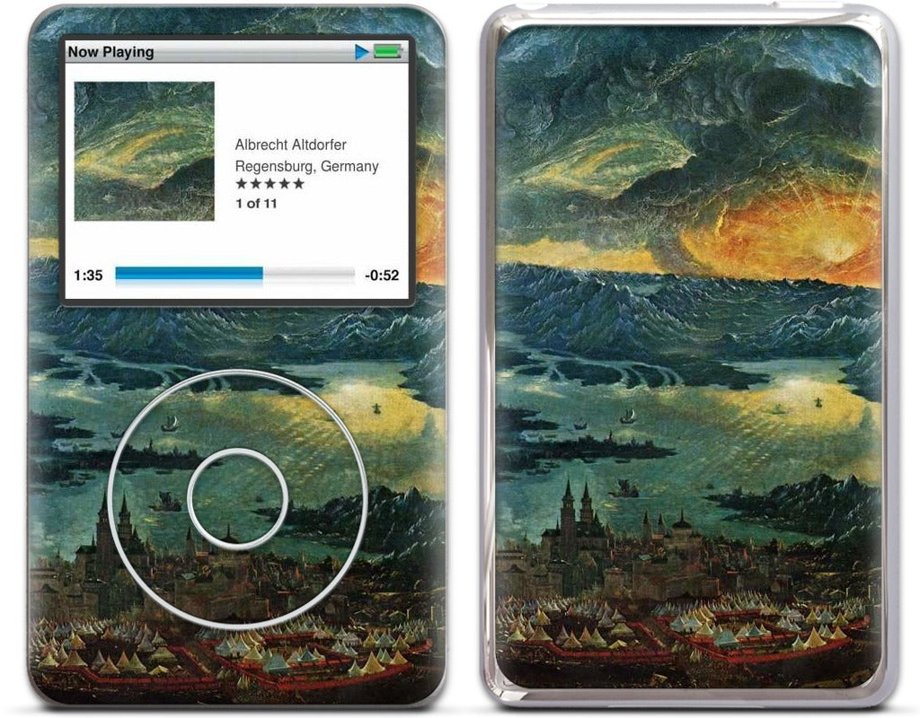 Battle of Issus iPod Skin