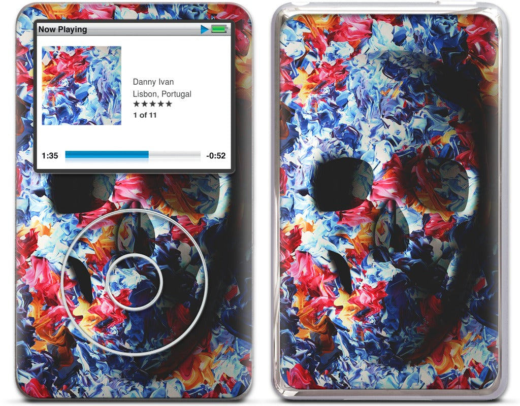Skull - Light Version (Feat. Marta Macedo) iPod Skin