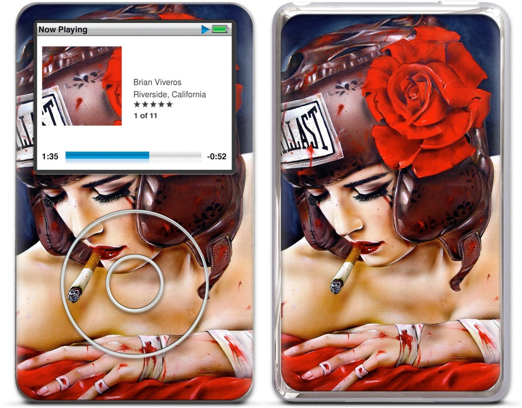 Bloody Knuckles iPod Skin
