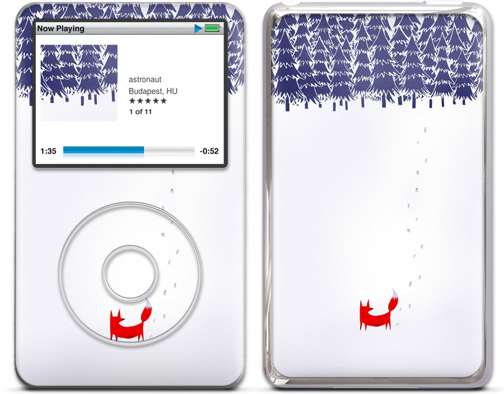 Alone in the Forest iPod Skin