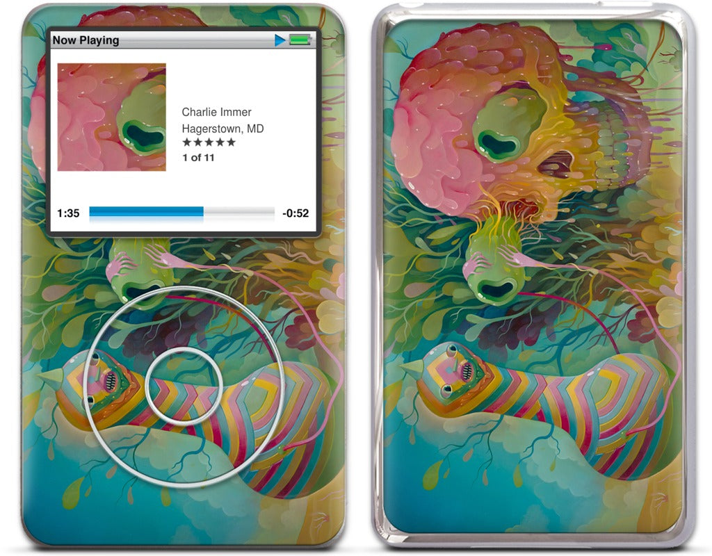 Slippery Removal iPod Skin