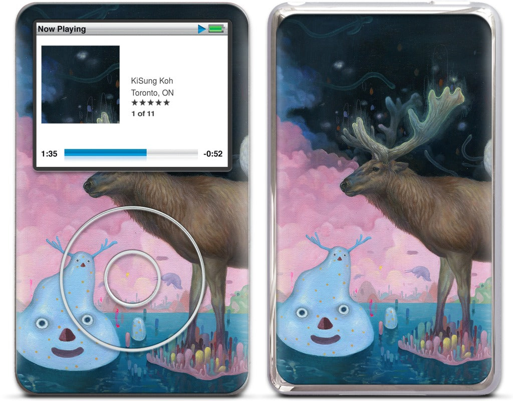 A Believer on the Surface iPod Skin