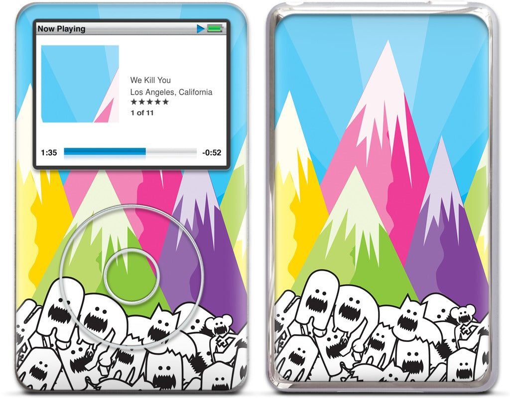 Mountain View iPod Skin