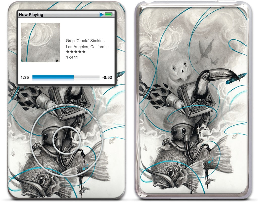 3 Lil Fishies iPod Skin