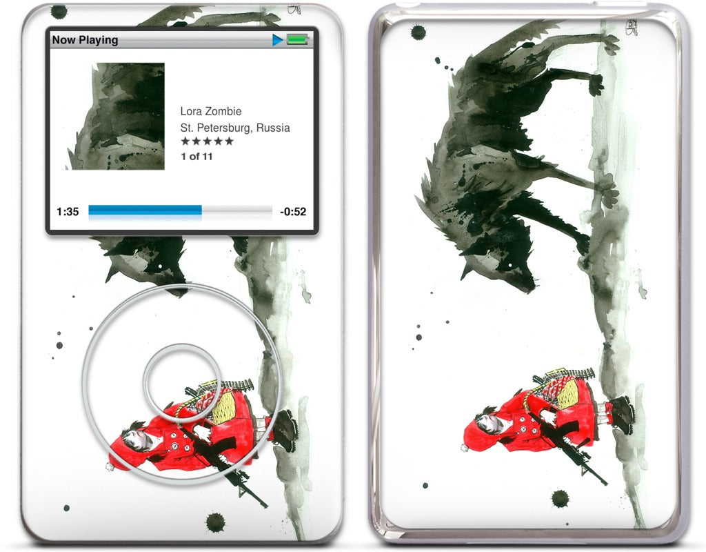 Red Riding Hood iPod Skin