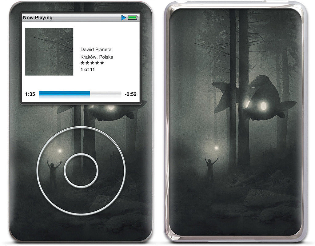 Deep Forest (phones) iPod Skin