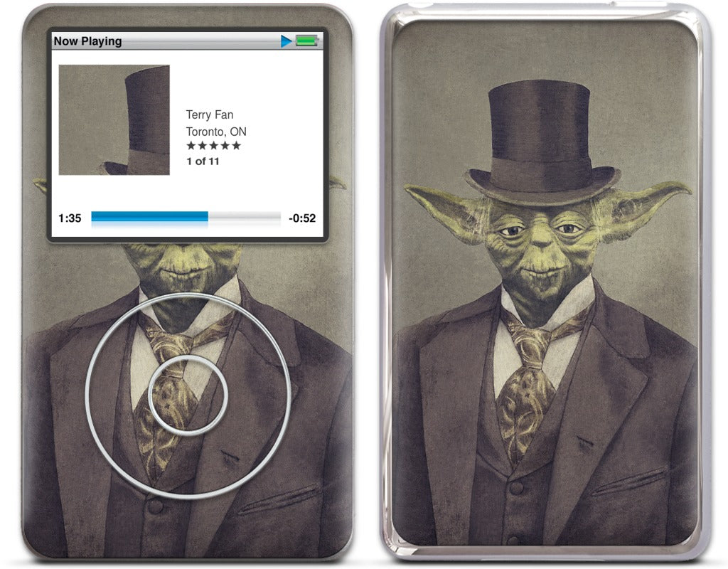 Sir Yodington iPod Skin