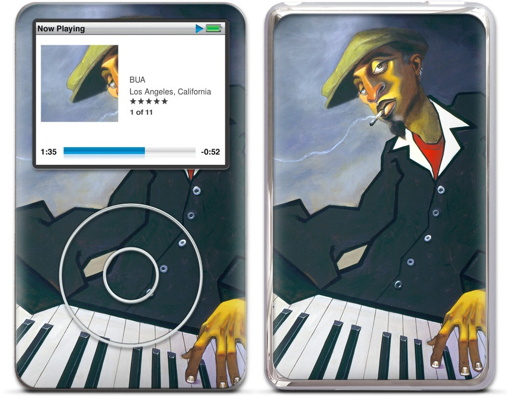 Piano Man II iPod Skin