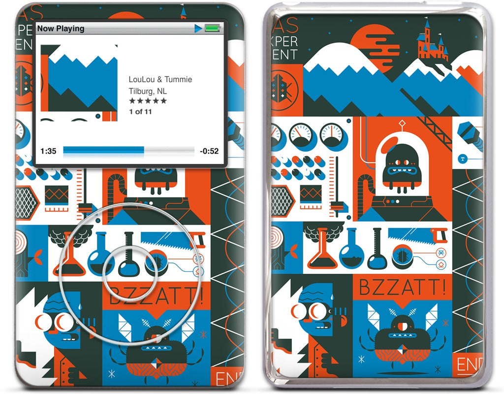 Das Experiment iPod Skin