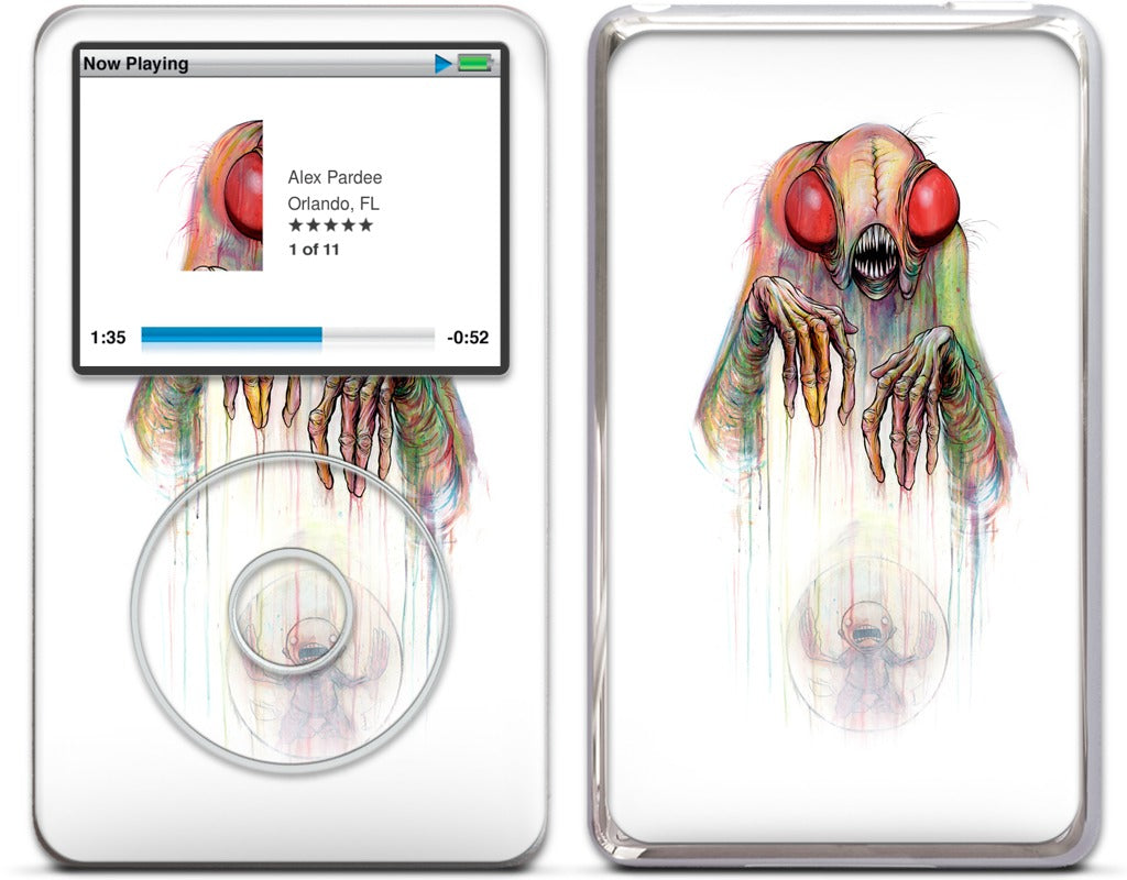 Digested Rainbow iPod Skin