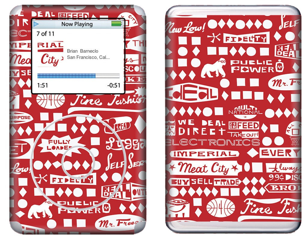 Meat City iPod Skin