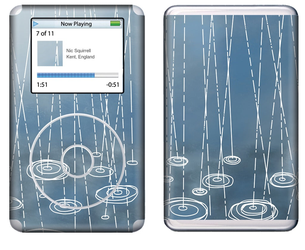 Another Rainy Day iPod Skin