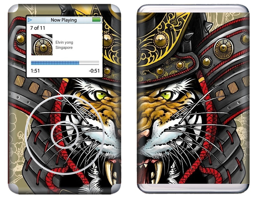 Kabuto Tiger iPod Skin