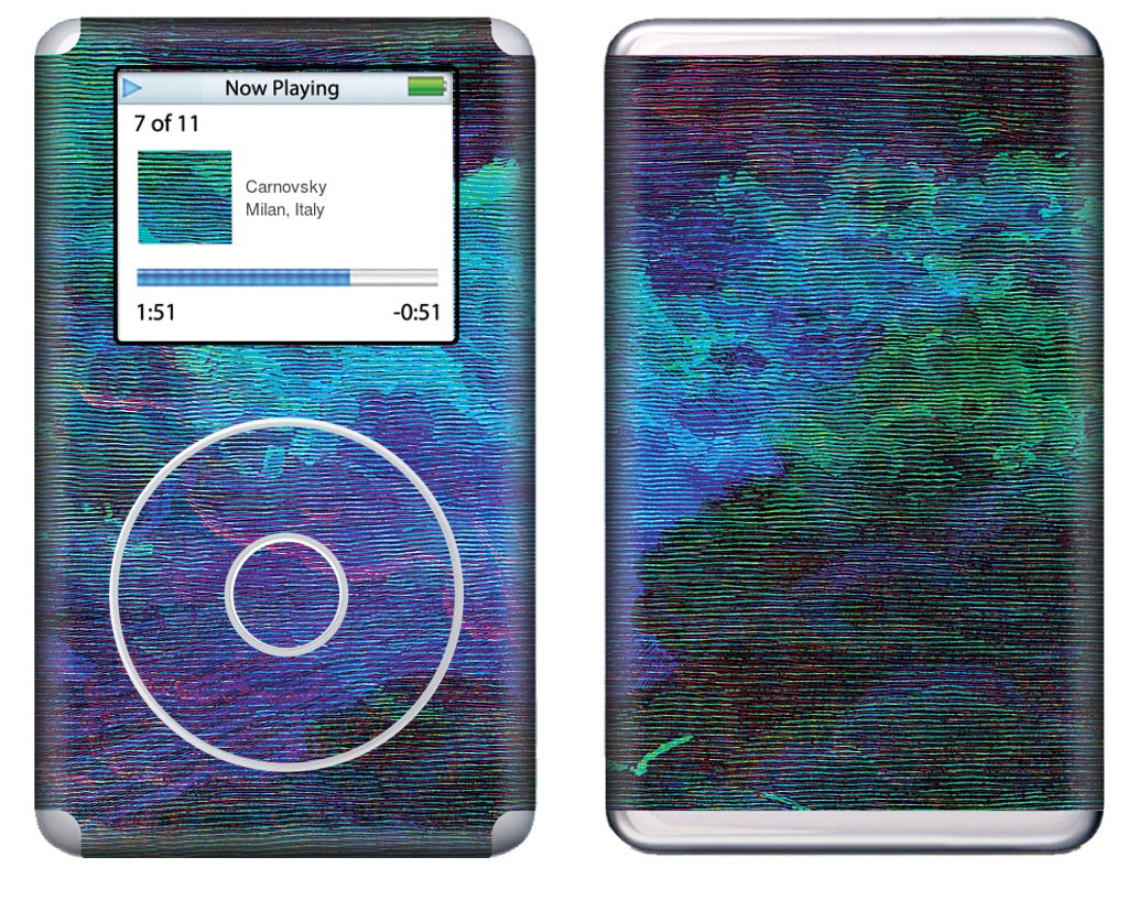 Atmospheric 9 iPod Skin