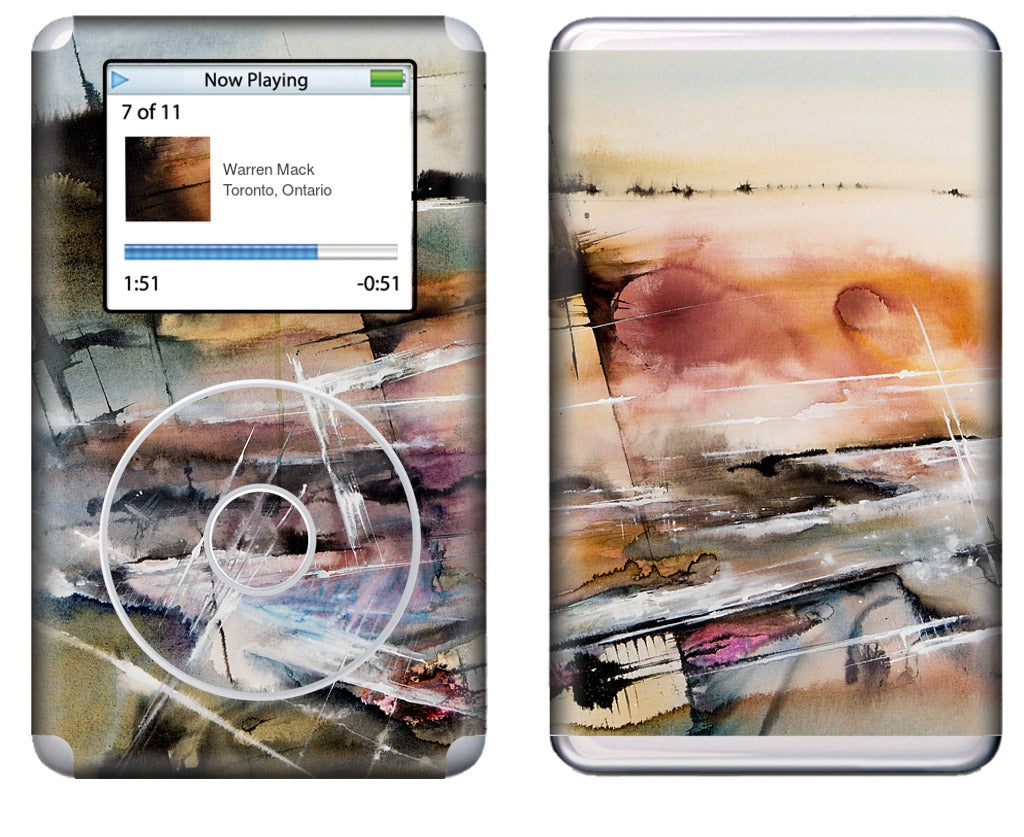 Driving at Dusk iPod Skin