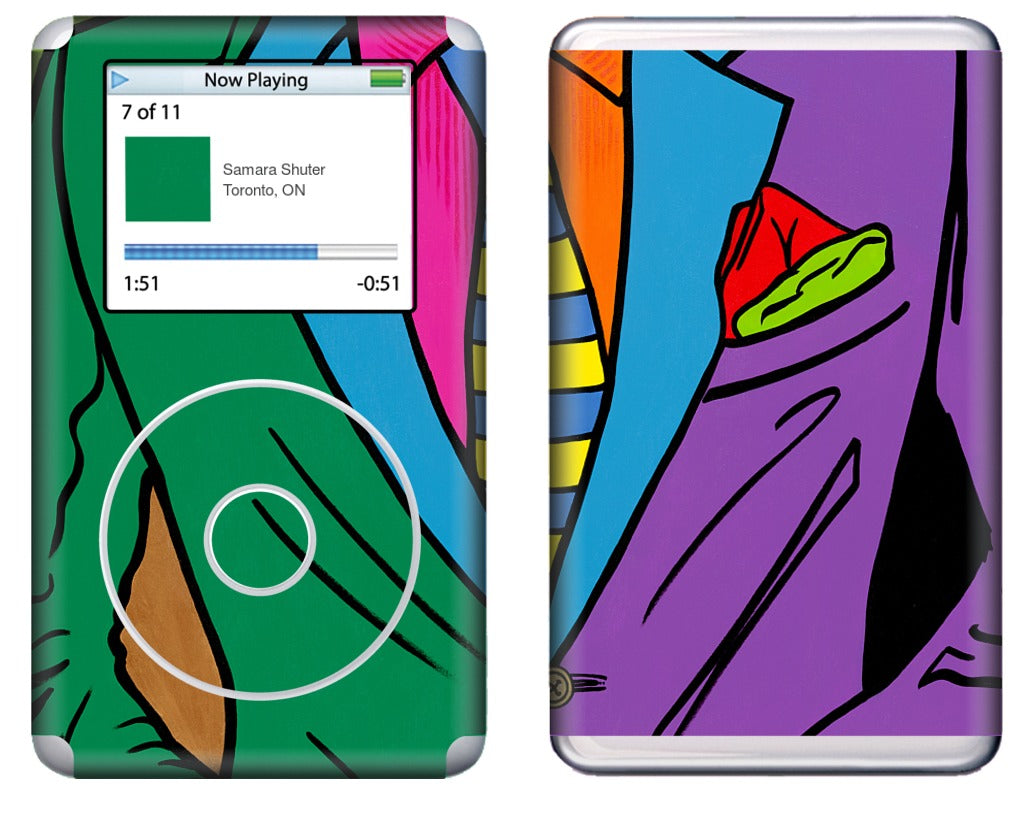THE INTRODUCTION #10 iPod Skin
