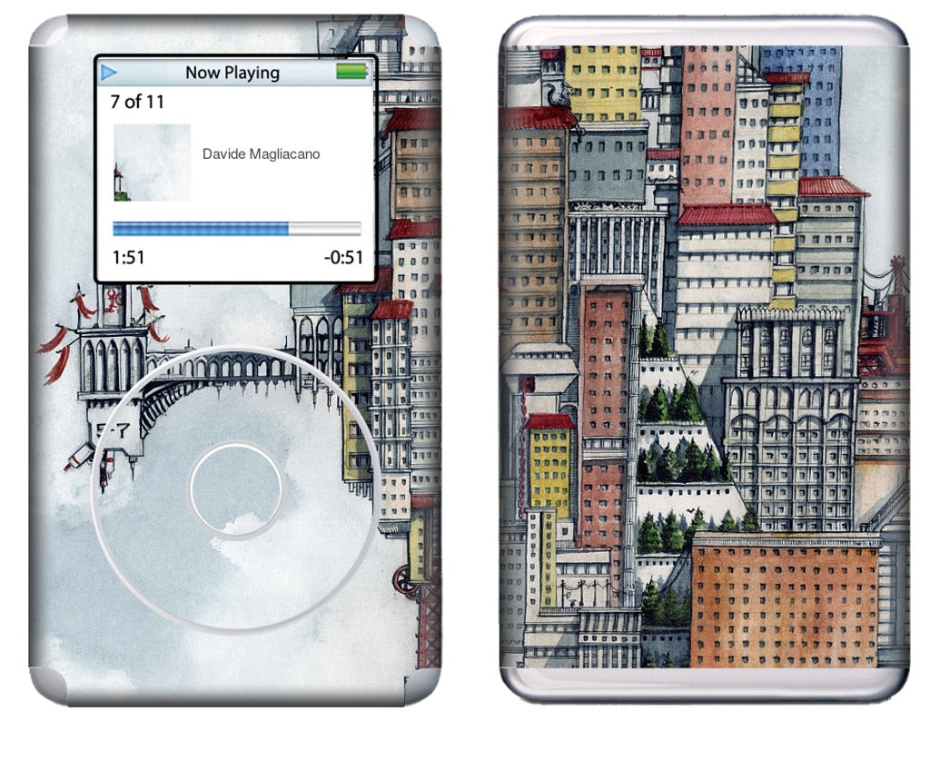 The Wizard iPod Skin