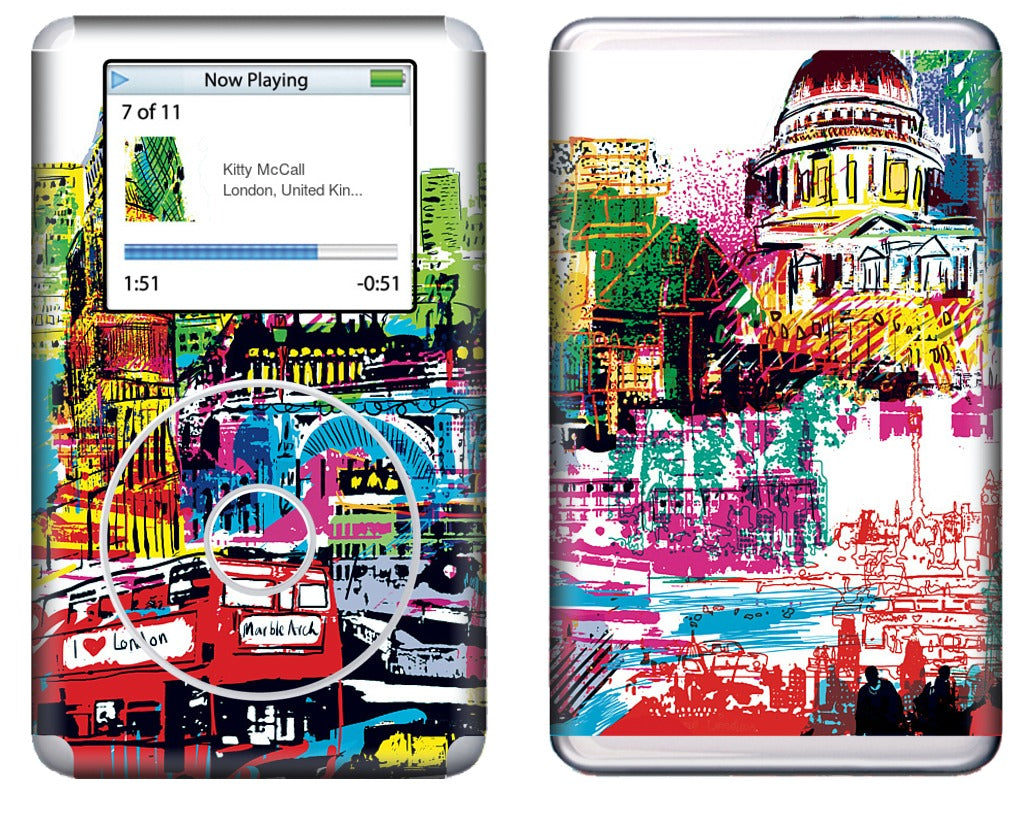London Skyline iPod Skin