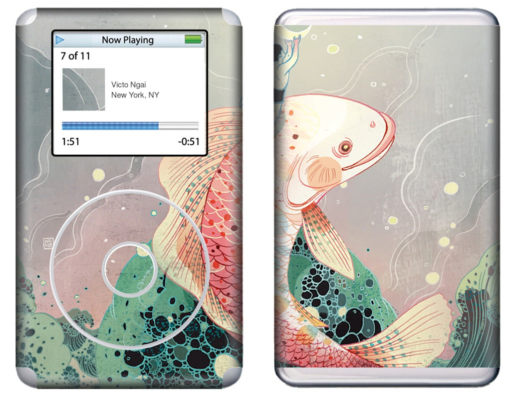 Mooncatcher iPod Skin