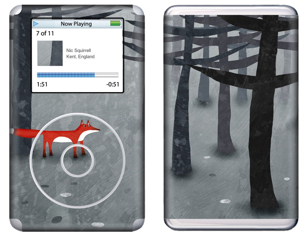The Fox and the Forest iPod Skin