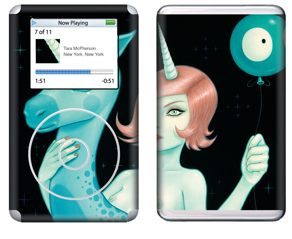 Lost Constellations iPod Skin