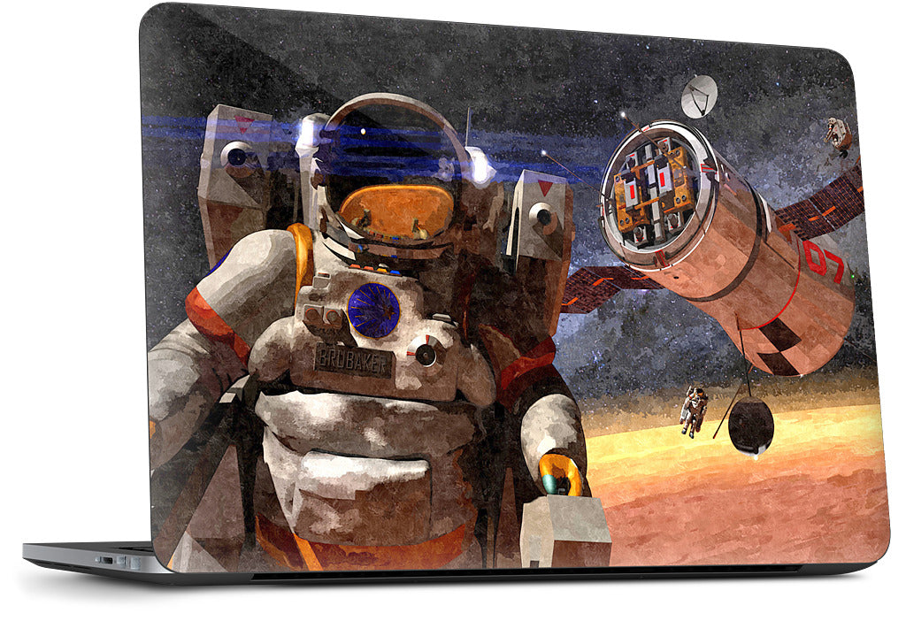 Mars Work Day Dell Laptop Skin
