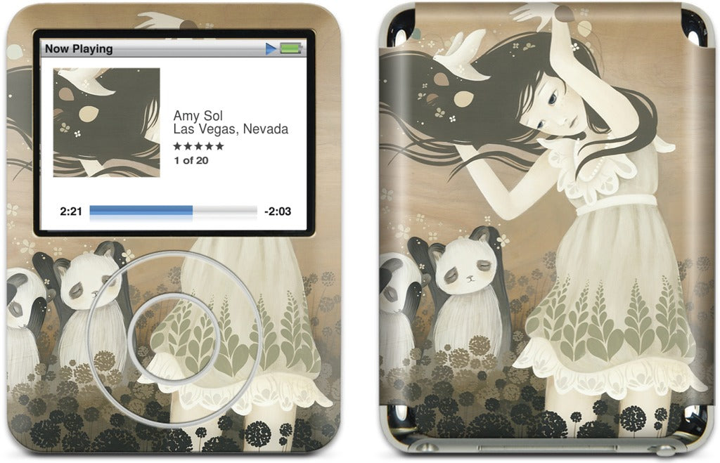 Leave The Hair And Go Free iPod Skin