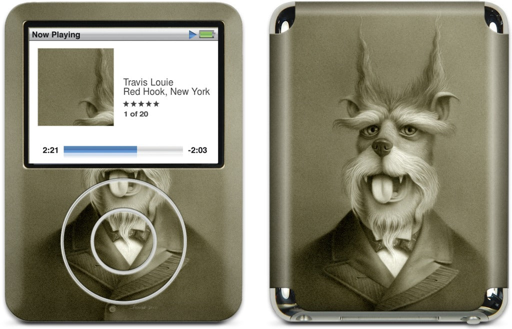 Rusty Of Unusual Circumstance iPod Skin