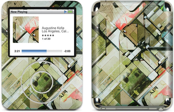 Smoggy Air iPod Skin