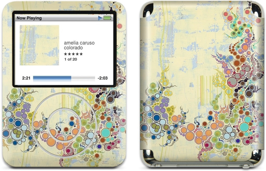 Details of My Life iPod Skin