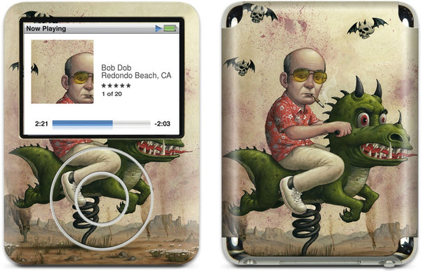 Ride You Bastard iPod Skin