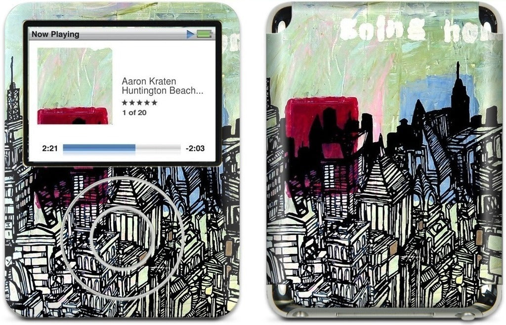 Going Home iPod Skin