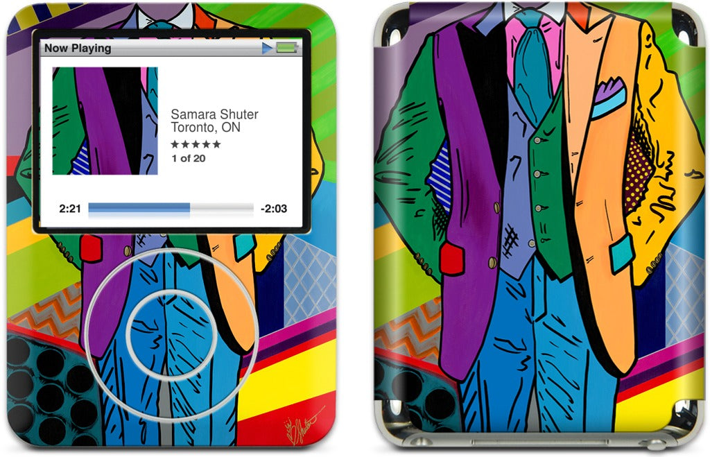 THE INTRODUCTION #13 iPod Skin