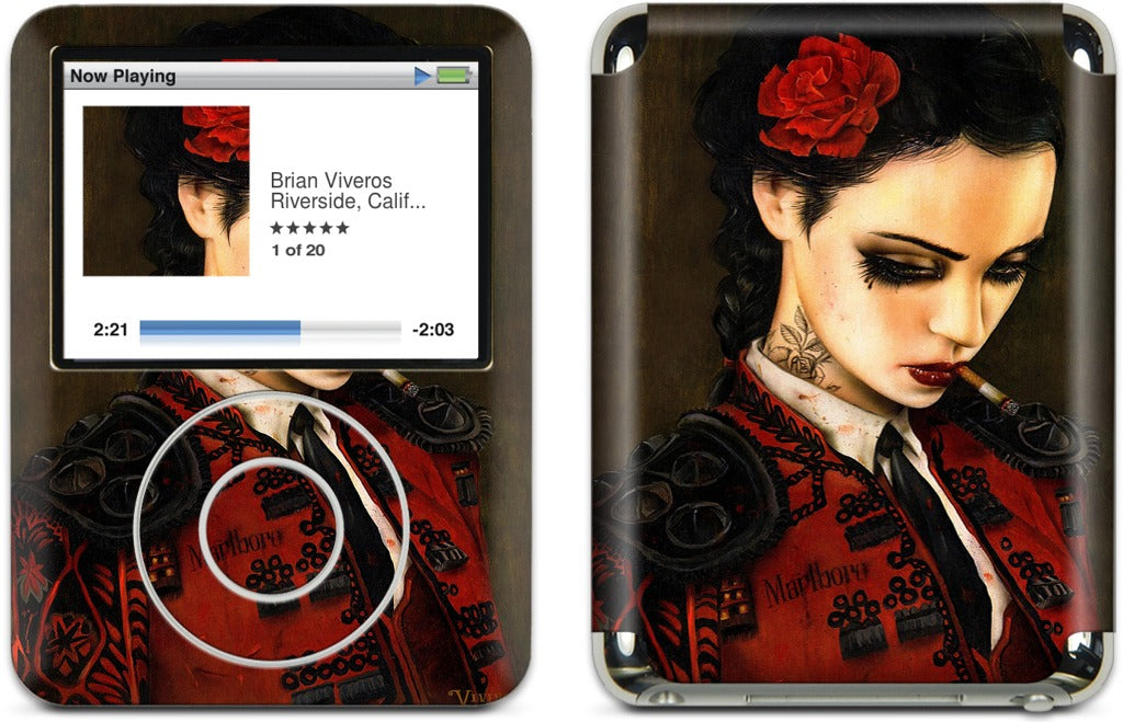 Bull Fight Her iPod Skin